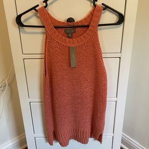 J. CREW woven coral top